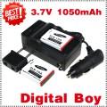 SLB-10A - 2 аккумулятора + зарядное устройство + автомобильное зарядное устройство для Samsung L100,L110,L200,L210,L310W,WB150F