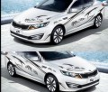 Наклейки виниловые для Kia K2, K3, K5, Rio, Mazda 2, 3, 5, EZ, китайские иероглифы
