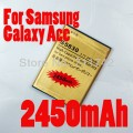 Аккумуляторная батарея S5830 на 2450mAh для Samsung Galaxy Ace S5830 Galaxy Gio S5660