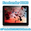 "FreeLander PD80 - планшетный компьютер, Android 4.0.4, 9.7"" IPS, Rockchip RK3066 (2x1.6GHz), 1GB RAM, 16GB ROM, Wi-Fi, Bluetooth, HDMI, 0.3MP фронтальная камера, 2MP задняя камера"