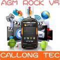 "AGM Rock V5 - смартфон, Android 4.0.4 800MHz, 3.5"" TFT LCD,512 MB RAM, 4092 MB ROM, Wi-Fi, 3G, GPS, Bluetooth, 5MP камера, компас, фонарик, пыленепроницаемый/водонепроницаемый/противоударный"