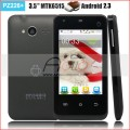 "PZ226+ - смартфон, Android 2.3.6, MTK6515 (1GHz), 3.5"" TFT LCD, 256MB RAM, 256MB ROM, Wi-Fi, Bluetooth, FM, 2MP задняя камера, 0.3MP фронтальная камера"
