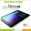 "Ainol Novo 10 Hero - планшетный компьютер, Android 4.1.1, HD 10.1"" IPS, Amlogic 8726-MX (2x1.6GHz), 1GB RAM, 16GB ROM, Wi-Fi, Bluetooth, HDMI, 0.3MP фронтальная камера, 2MP задняя камера"