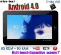 "Onda Vi60 Elite - планшетный компьютер, Android 4.0.3, Allwinner A10 (1.5GHz), 7"" TFT LCD, 1GB RAM, 8GB ROM, Wi-Fi, 0.3MP фронтальная камера"