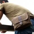 Мужская сумка из холщовой ткани