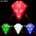 Задний габаритный фонарь для велосипеда с лазером, влагозащитное исполнение, 4 цвета