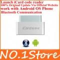 Кодридер-сканер, мультиязычный с синхронизацией с Android OS по Bluetooth, iCard, OBDII/EOBD