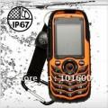 "Fortis A88 Orange - мобильный телефон, 2"" TFT LCD, Bluetooth, 2 SIM, IP67, FM, MP3, 1.3MP камера, пыленепроницаемый/водонепроницаемый/противоударный"
