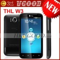"THL W3+ (Dual Core) - смартфон, Android 4.0.4, MTK6577 (1GHz), 4.5"" IPS, 1GB RAM, 4GB ROM, 3G, Wi-Fi, Bluetooth, GPS, 8MP задняя камера, 2MP фронтальная камера"