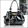 Женская сумка из лакированной  кожи WB0002