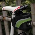 Велосипедная сумка с креплениями, светоотражающее покрытие, отделение на молнии