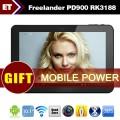 "Freelander PD900 - планшетный компьютер, Android 4.1, RK3188 Cortex A9 28nm Quad Core 1.6Ghz, 10.1"" IPS, 2GB RAM, 16GB ROM, поддержка карт microSD, Wi-Fi, HDMI, Bluetooth, OTG, основная камера 2МП и фронтальная камера 0.3МП"