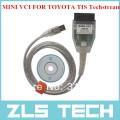 MINI VCI - кабель для TOYOTA TIS Techstream V8.10.021