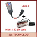 Lexia-3 - устройство для диагностики и кабель с 30-контактным разъемом, автомобили Citroen и Peugeot