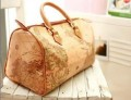 Модная сумочка-почтальонка из полиуретановой кожи с рисунком в виде карты на плечо