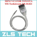 Кабель MINI VCI и диск с программным обеспечением TOYOTA TIS Techstream 8.10.021, 2013