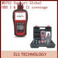 Maxidiag MD701 - многофункциональный диагностический прибор для авто