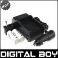 NB-9L - 2 аккумулятора + зарядное устройство + зарядка для авто, для Canon SD4500 IS IXUS 1000HS IXY 50S