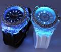 Спортивные силиконовые часы Geneva со светодиодной подсветкой