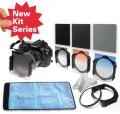 Набор: нейтрально-серые фильтры ND2/ND4/ND8 + градиентные фильтры серый/оранжевый/синий + кольцо-переходник 55 мм