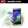 "Huawei G700 - Смартфон, Android 4.2, MTK6589 1.2GHz, Dual SIM, 5"", 2GB RAM, 8GB ROM, GSM, 3G, GPS, Wi-Fi, Bluetooth, основная камера 8.0Mp"