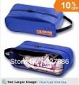 Водонепроницаемая сумка для обуви с прозрачной вставкой, 33х12х14 см