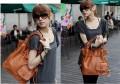 Модные дамские сумочки из полиуретановой кожи коричневые S2-S004
