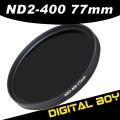 Нейтрально-серый фильтр 77 мм ND2-ND400 для Canon; Nikon 24-70 24-105 70-200