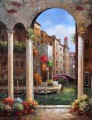 Картина маслом  Венецианский дом