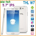 "ThL W7 - смартфон, Android 4.0.4, MTK6577 (1.2GHz), HD 5.7"" IPS, 1GB RAM, 4GB ROM, 3G, Wi-Fi, Bluetooth, GPS, 8MP задняя камера, 3.2MP фронтальная камера"
