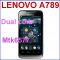 "Lenovo A789 - смартфон, Android 4.0.3, MTK6577 (1.2GHz), 4.0"" TFT LCD, 512MB RAM, 4GB ROM, 3G, Wi-Fi, Bluetooth, GPS, FM"