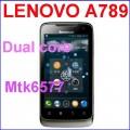 "Lenovo A789 - смартфон, Android 4.0.3, MTK6577 (1.2GHz), 4.0"" TFT LCD, 512MB RAM, 4GB ROM, 3G, Wi-Fi, Bluetooth, GPS, FM"
