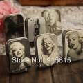 Ретро коробочка с изображением Мэрилин Монро, 6 шт