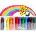 Акриловая краска для ногтей, 12шт