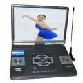 "CWQB016A - портативный DVD-плеер, 17"" TFT LCD, USB/Card reader, TV"