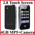 "mp3/mp4-плеер T-Screen, 2.8"" TFT LCD, 4GB, FM, Games"
