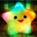 Светящаяся подушка-звезда