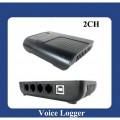 KOQI - цифровой телефонный регистратор, 2 канала, USB, MP3, WAV, REC