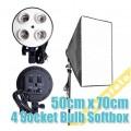 Патрон-адаптер E27 для ламп с софтбоксом, поддержка крепления зонтов AE7A