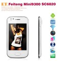 "Feiteng mini 9300 - Смартфон, Android 4.0, Dual Sim, Spreadtrum SC6820A 1.0Ghz, 3.5"", 256MB RAM, 256MB ROM, GSM, Wi-Fi, Bluetooth, GPS, основная камера 0.3Mp"