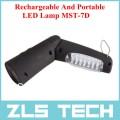 Портативный светодиодный фонарик с функцией подзарядки