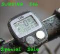 Спидометр/одометр /шагомер для велосипеда, влагозащитное исполнение