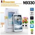 "N9330 - смартфон, Android 4.0, Media Tek MTK6577 Dual Core 1GHz, 5.3"" QHD, 2 SIM-карты, 1GB/512MB, 4GB ROM, поддержка карт microSD, WCDMA/GSM, Wi-Fi, Bluetooth, GPS, FM-радио, основная камера 8МП и фронтальная камера 0.3МП"