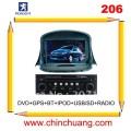 "Chinchuang CC-P8462 - автомобильная магнитола, 7"" TFT LCD, Touch Screen, GPS, WinCE 6.0, Bluetooth, iPod, CD/DVD, FM/TV для Peugeot 206"