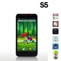 "Star S5 Butterfly - смартфон, 2 SIM-карты, Android 4.2.1, 5"" HD IPS, MTK6589 (4 х 1.2ГГц), 1ГБ RAM, 4/8ГБ ROM, поддержка карт microSD, 3G, Wi-Fi, GPS, Bluetooth, FM-радио, основная камера 12МП и фронтальная камера 3МП"
