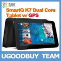"SmartQ K7 Dual Core - планшетный компьютер, Android 4.0.4, 7"" IPS, TI OMAP 4430 (2x1GHz), 1GB RAM, 8GB ROM, HDMI, Wi-Fi, Bluetooth, GPS, 2MP фронтальная камера"