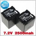 CGA-DU21 - 2 аккумулятора Li-ion 2500 мАч для PANASONIC CGR-DU06 CGA-DU06