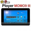 "Ployer MOMO9 III - планшетный компьютер, Android 4.0, Allwinner A13 1.05GHz, 7"", 512MB RAM, 8GB ROM, фронтальная камера 0.3МП"