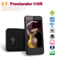 "Freelander I10S - смартфон, Android 4.0.4, MTK6577 (2x1GHz), 4"" TFT LCD, 512MB RAM, 4GB ROM, 3G, Wi-Fi, Bluetooth, GPS, 5MP задняя камера, 0.3MP фронтальная камера"