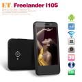 "Freelander I10S - смартфон, Android 4.0.4, MTK6577 (2x1GHz), 4"" TFT LCD, 512MB RAM, 4GB ROM, 3G, Wi-Fi, Bluetooth, GPS, 5MP задняя камера, 0.3MP фронтальная камера"
